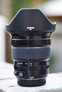 Fuji's 10-24mm f4 Wide Angle Zoom Lens