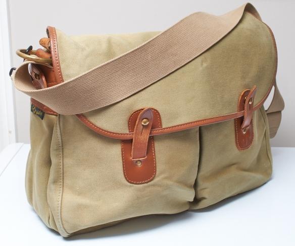 The Brady Gelderburn: designed initially as a Fishing bag