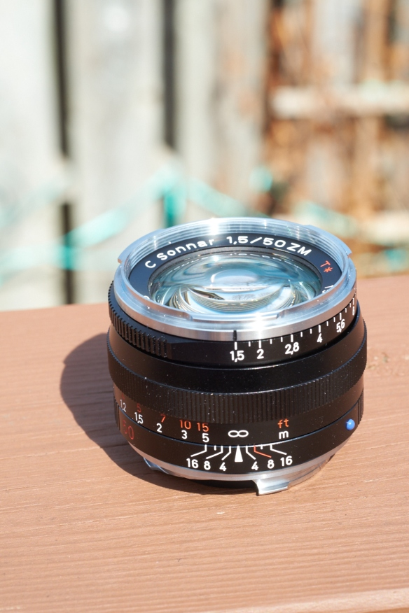 Old school optics with modern coatings:  the Zeiss ZM Sonnar C f.15
